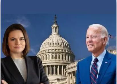 Ciasteczka w Białym Domu – jak zmieniały się relacje medialne z wizyty Cichanouskiej w USA