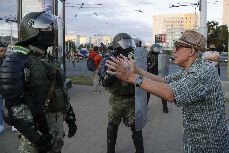 Эксперт: протестующие были подвергнуты жестокому обращению и пыткам