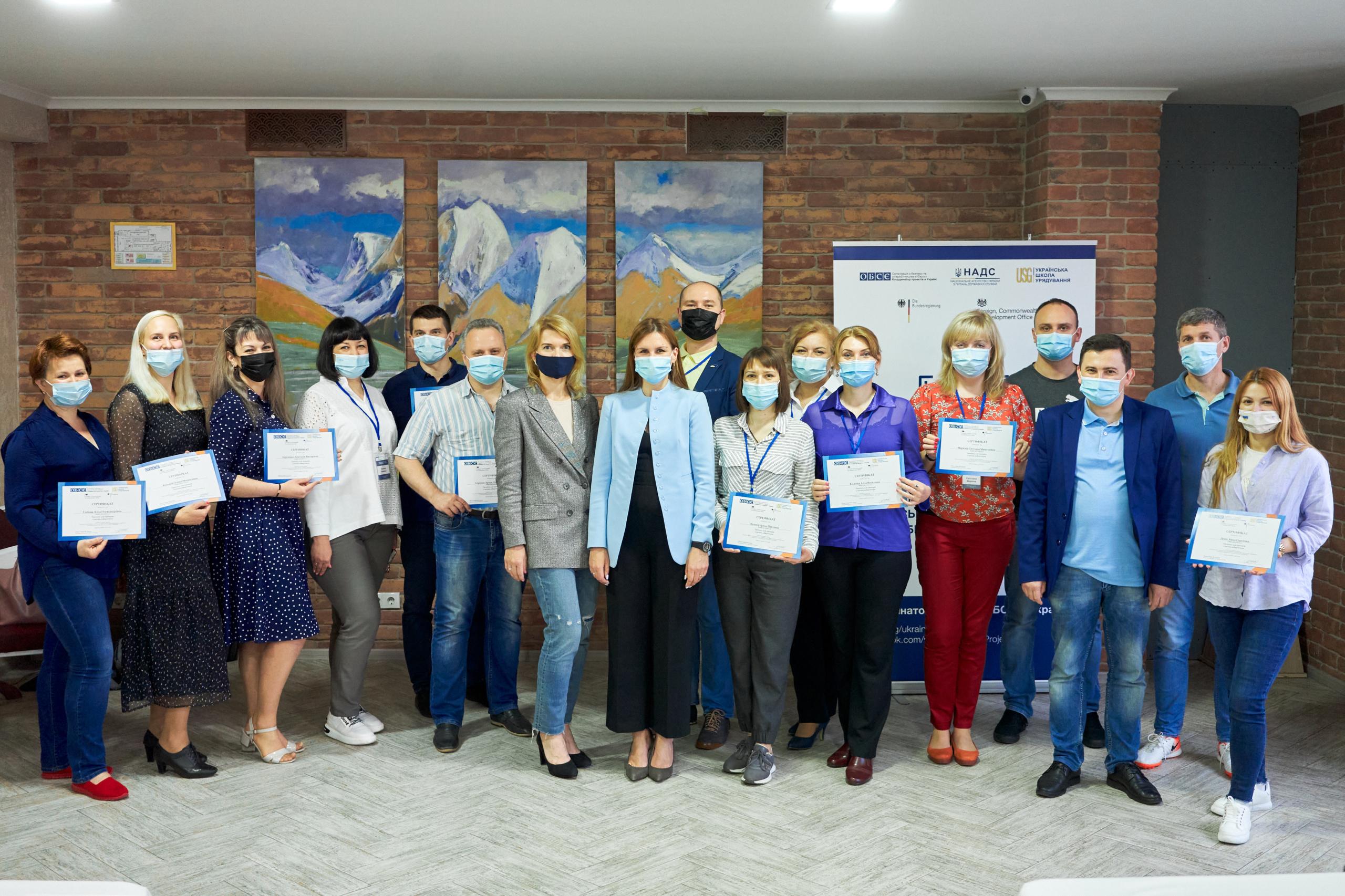 Практична сесія тренінгів для тренерів з кібергігієни від Координатора проектів ОБСЄ в Україні