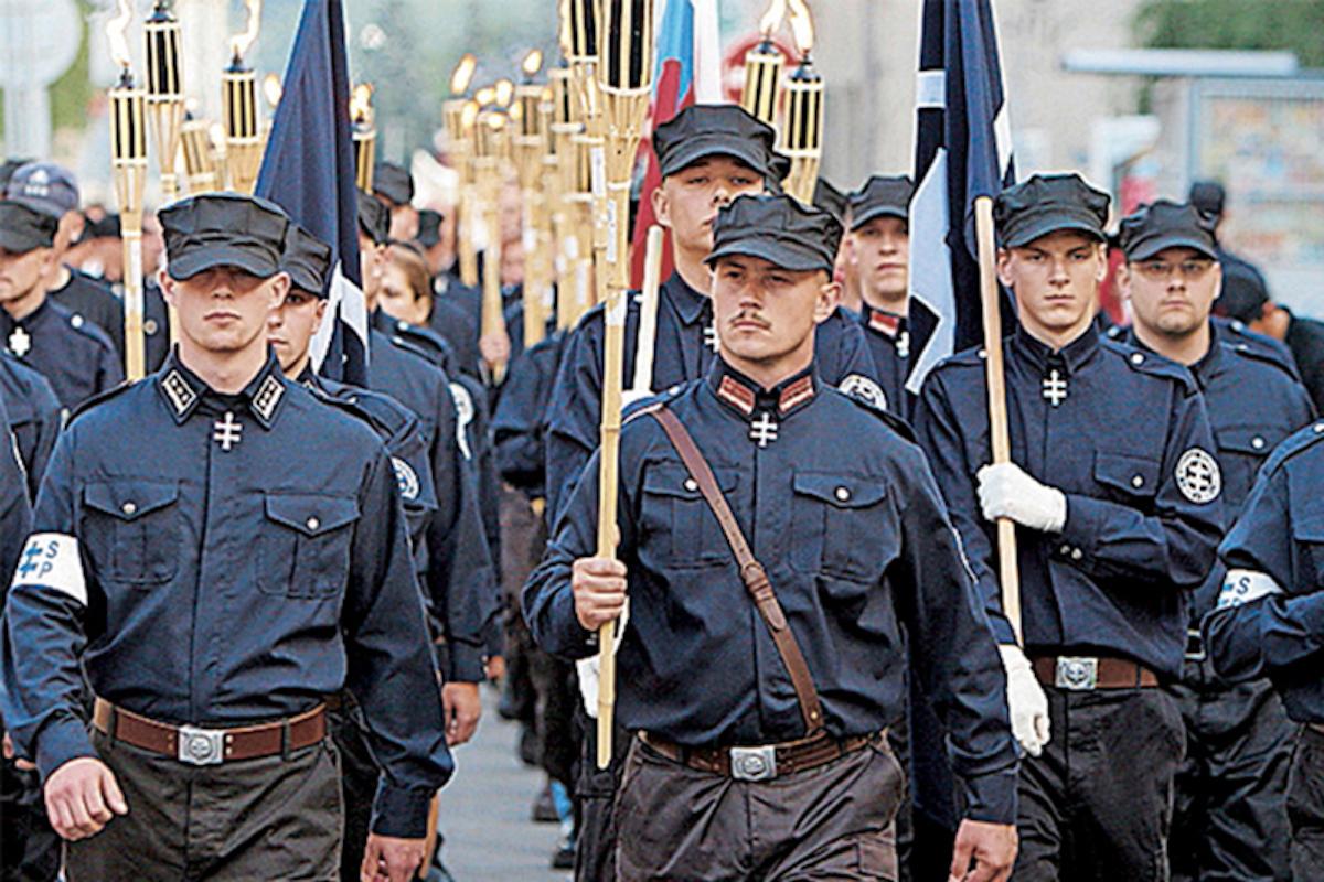 Фашисты и недоперекрасившиеся коммунисты Словакии вместе за Лукашенко