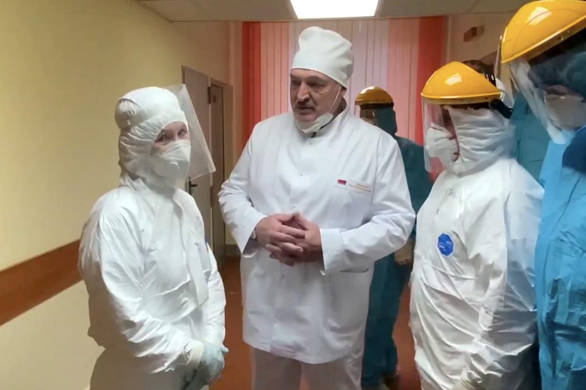 Манипуляции БТ в освещении эпидемии: Хаос в западных странах, Беларусь – островок успеха